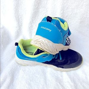 SAUCONY Boys Sneakers Runny Shoes